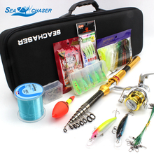 Excessive High quality Fishing rod set 1.8M-3.0M spinning telescopic Rod and Spinning Reel Lures line Hook Fishing Sort out set