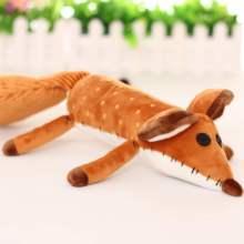 Cartoon creative fox plush toy doll The fox plush toys A birthday present