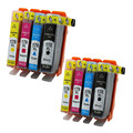 8PK For HP178XL HP 178 Compatible ink Cartridge For HP Photosmart 5520 C6380 C6300 C5300 C5383 C5380 Printer Inkjet Cartridges