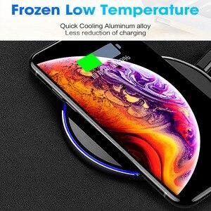 Image 4 - FDGAO 10W Sạc Không Dây Qi Cho iPhone 11 Pro X XS XR 8 Nhanh Sạc Dành Cho Samsung S8 s9 S10 Note 9 8 USB Sạc Điện Thoại Miếng Lót
