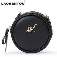 LAORENTOU Brand Women Leather Wallets Cute Mini Small Wallet Purse Quality Leather Coin Wallet