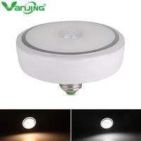 12W E27 PIR Motion Sensor Light Bulb Auto Switch Infrared Body Sensor Night Light Ceiling Lamp Energy Saving Home Lights
