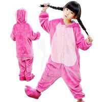 2018 New Onesie Pijamas Kids Winter Animal Cartoon Unicorn Costume Infantil For Long Sleeve Child Boys