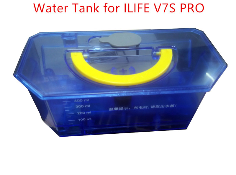 1pc Original Large vacuum cleaner Water Tank for ILIFE V7S PRO Robot Vacuum Cleaner Spare Parts Water Tank bin box replacement