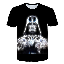 2019New fashion Star Wars T-shirt male 3D printed movie casual summer brand clothing