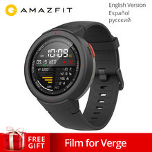NEW Original Xiaomi Huami AMAZFIT Verge 3 GPS Smart Watch IP68 Screen Heart Rate Answer Calls Smartwatch Multi Sports for MI MI8(China)