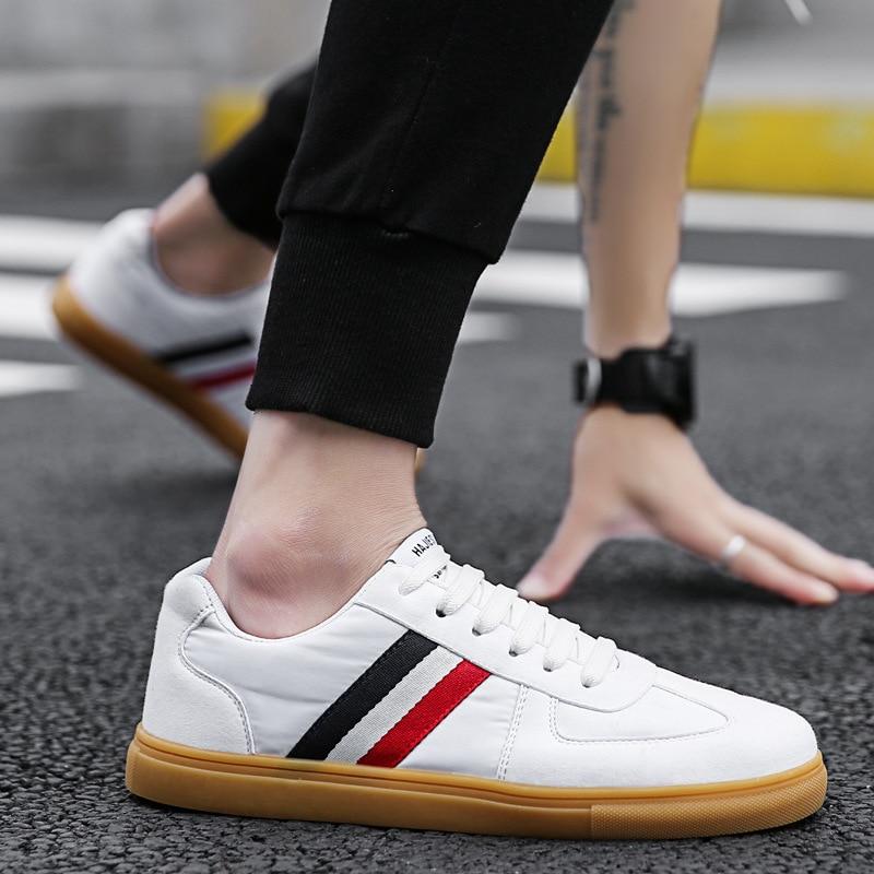 Été nouveau 2019 sauvage bas pour aider respirant chaussures de ville chaussures pour hommes version coréenne de la tendance de la jeune marée blanche