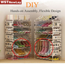 DIY Non-Woven Fabric Storage Shoe Rack Hallway Cabinet Organizer Holder Removable Door Shoe Storage Shelf Free Shipping actionclub multifunction storage shoe rack 3d cartoon pattern shoe cabinet simple non woven diy shoe organizer shelf furniture