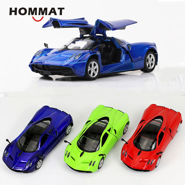 Christmas Sports Car.Us 14 13 29 Off Hommat Simulation 1 32 Pagani Huayra Super Sports Car Alloy Diecast Toy Vehicle Car Model Christmas Gift Cars Toys For Children In