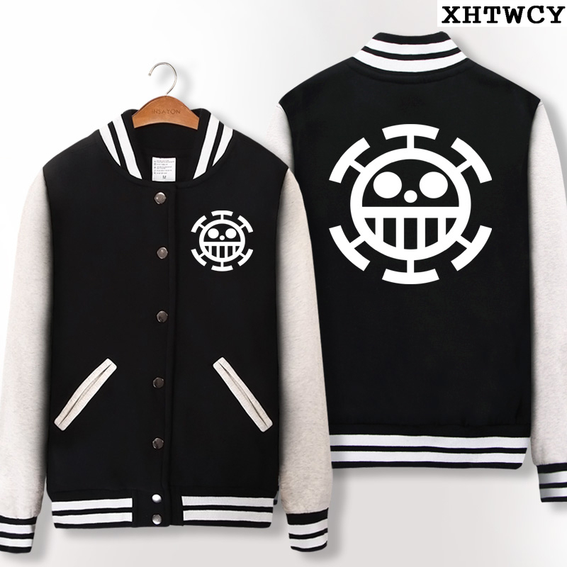 anime one piece hoodies Trafalgar Law Tony Chopper luffy hoodie sweatshirt casual fashion jacket for Teenagers