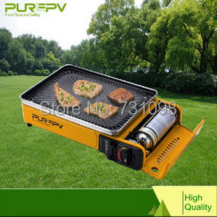 Portable Table Top Camping Fishing Outdoor Gas BBQ Barbecue Stove Cooker  Grill  In BBQ Grills From Home U0026 Garden On Aliexpress.com | Alibaba Group