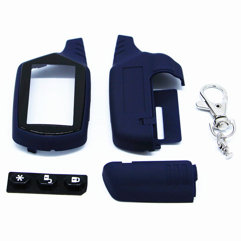 Starline A91 Key Shell Keychain Case For Russian Version Starline Lcd Remote Two Way Car Alarm System