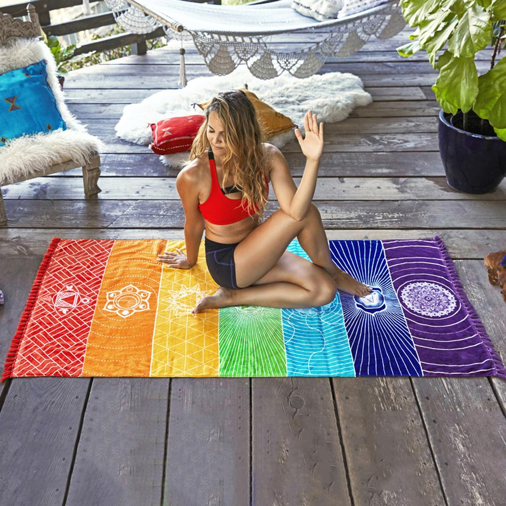Махровые разноцветные шали гобелены мягкие для чистки ковров, для дома красочные шторы ковер Декор стелька