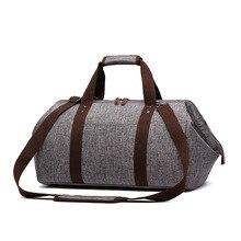 Big bag für männer handtasche messenger casual umhängetasche hohe qualität männer reisegepäck taschen mit metall fix verschluss