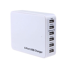 Best sellers50W 6 Port USB Wall Charger Power Adapter For Samsung Iphone Android JAN14