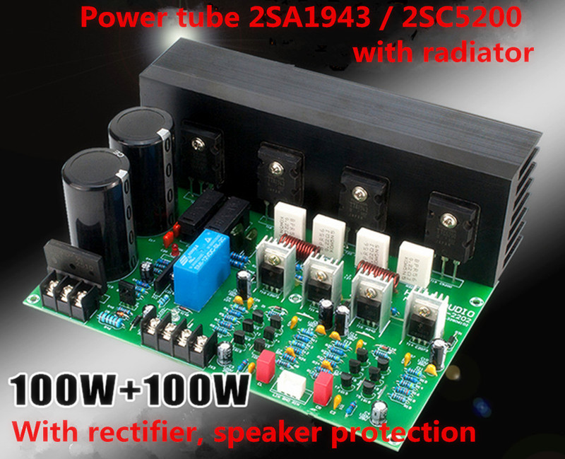 Cheap and beautiful product 2sa1943 2sc5200 amplifier in BNS