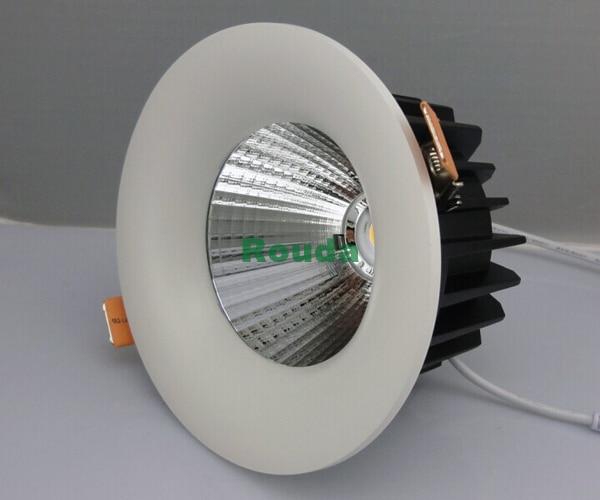 home lighting   downlight led 30w led cob 110-120lm/w pure light color,no glare,no dark areas,high light glare 30