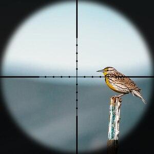 Image 2 - 전술 다이애나 4 16X42 AO 라이플 스코프 밀 도트 레티클 광학 시력 사냥 용 소총 범위
