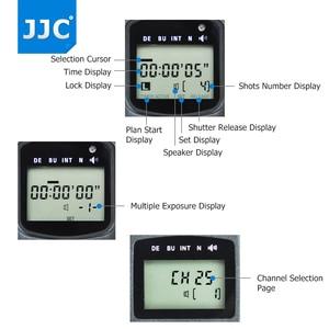 Image 4 - JJC มัลติฟังก์ชั่นไร้สาย LCD TIMER รีโมทคอนโทรลสำหรับ Canon EOS 850D 5DS R 1DC 1D 5D 7DM3 7DM2 6D 5D2 5D3 เช่น RS 80N3 TC 80N3