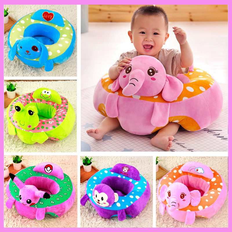 Baby Support Seat Soft Car Pillow Cushion Sofa Mutifunctional Baby Pillow Decoration Sofa Stool Chair Child Safety Seat Backrest baby seat inflatable sofa stool stool bb portable small bath bath chair seat chair school