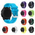 12 Colors Fashion Sports Soft Silicone Bracelet Strap Band For Samsung Gear S3 Frontier