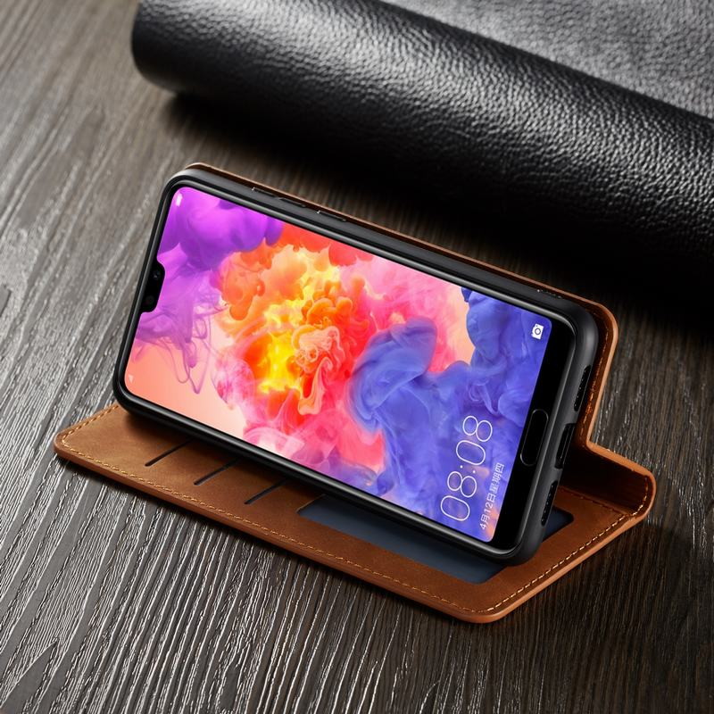 Leather Wallet Huawei P20 PRO Case