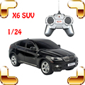 Presente de Ano novo X6 1/24 RC Mini SUV Carro de Rádio Simples Máquina Elétrica de controle Brinquedos Meninos Veículo Jeep Pouco Deriva Presente Corrida