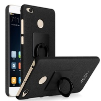 IMAK Cowboy Cover For Xiaomi Redmi 4X Shell Ring Grip Stent PC Mobile Phone Cover Case