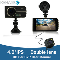 4 0 Inch LCD Dash Camera Video Car DVR Recorder HD Motion Detector Cycle Recording For