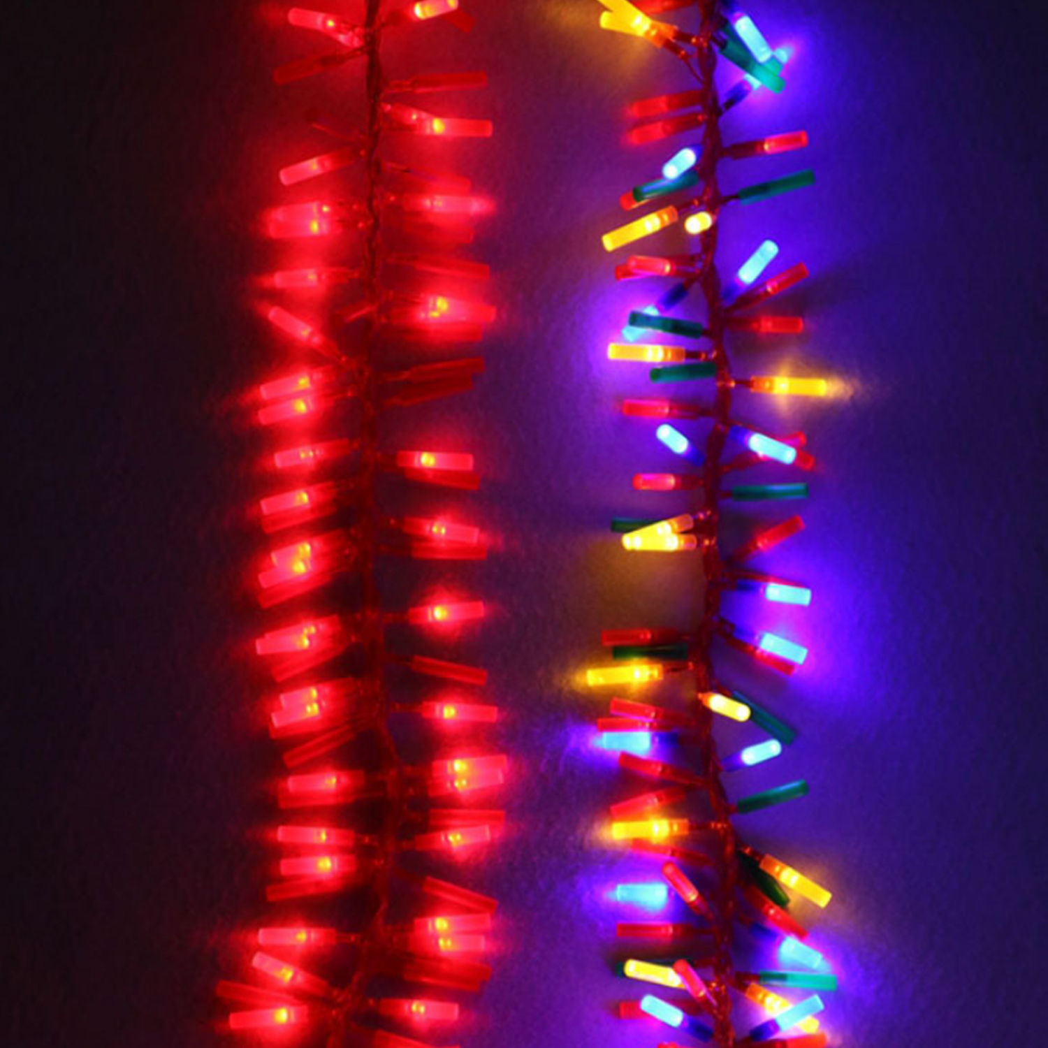 Simulation Electronic Firecrackers With 140-LED Light Sound Effects For Chinese New Year Home Mall Restaurant US Plug