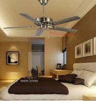 Ретро домашний потолочный вентилятор креативный современный гостиная простой потолочный вентилятор скандинавский креативный обеденный Р