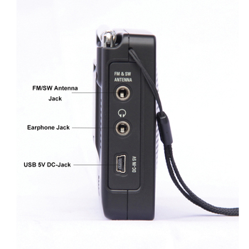 Радиоприемник TECSUN PL-606, PLL, FM/LW/SW/MW, DSP, Интернет-радио 4