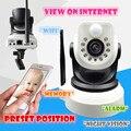 720 P Инфракрасная Камера Wi-Fi PTZ P2P Беспроводной HD 1.0MP ip CMOS IRCUT Видеонаблюдения CCTV Ночного Видения