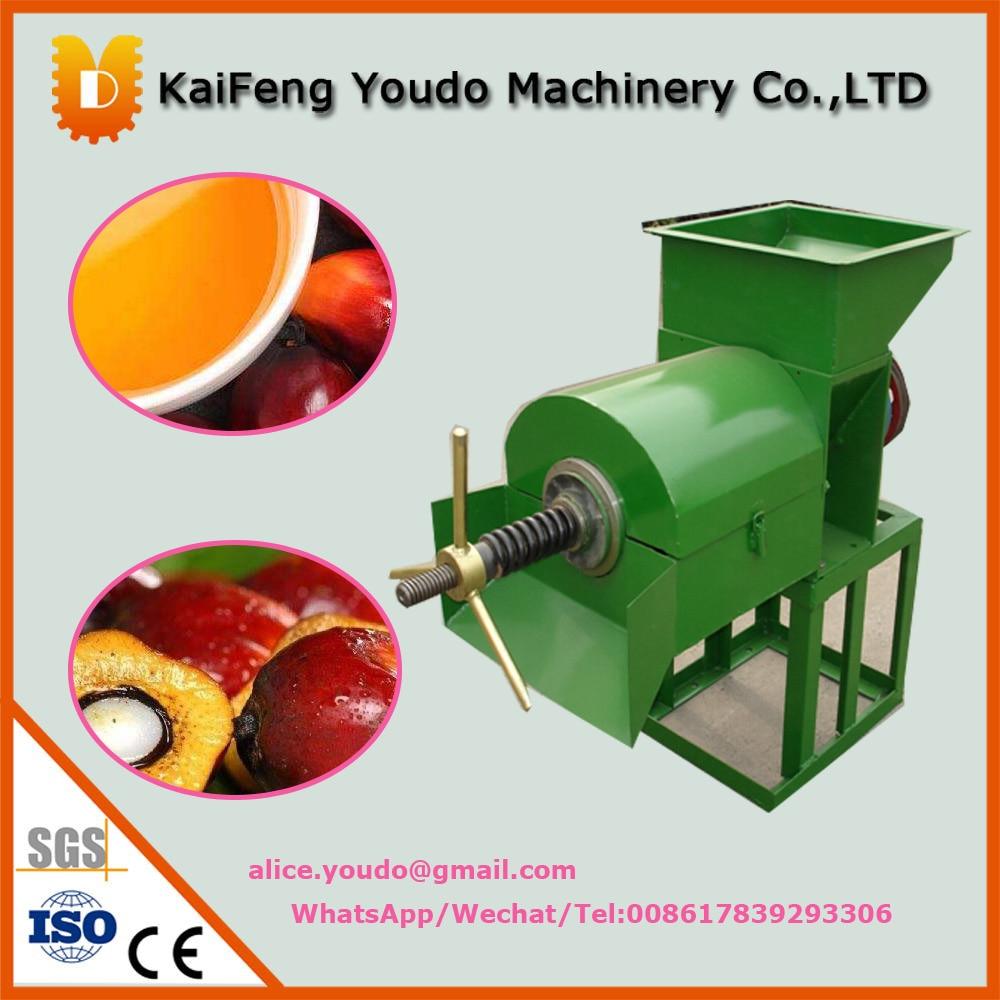 UDZL-1 high quality  mini electric palm oil press machine utilization of palm oil mill wastes