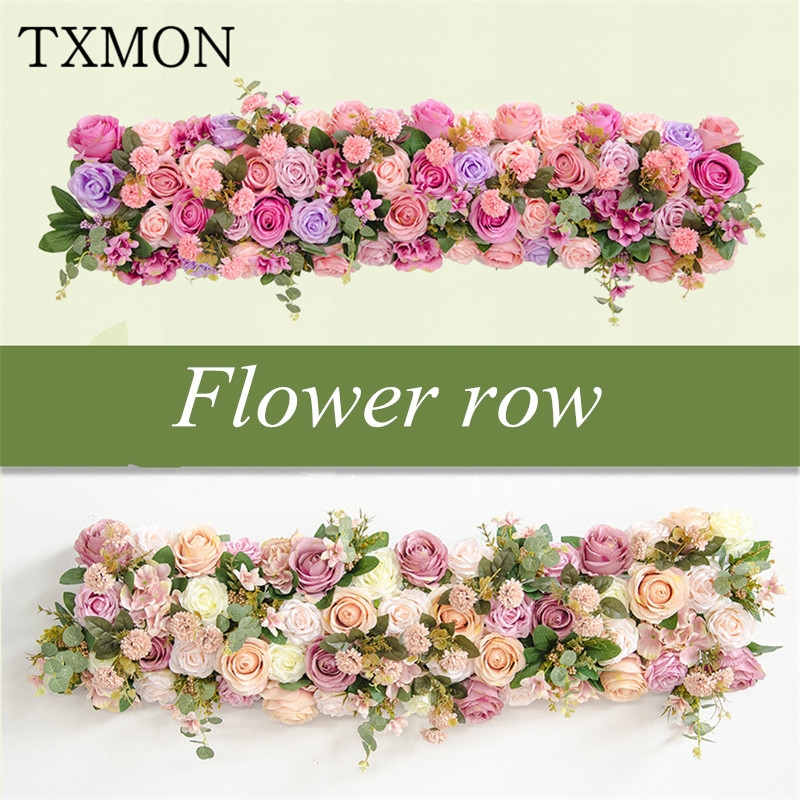 Simulation flower arch wedding flowers shop window decoration wedding T Taiwan cited photo studio photography props