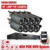 Full HD 8CH NVR 1080P POE 48V CCTV System Kit 1MP 720P Indoor Outdoor IP Camera