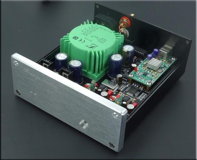2016 New Breeze Audio High-end ESS9018 XMOS Asynchronous USB DAC SU3 ES9018 DAC Support DSDPCM 32BIT 384K And Headphone Output 5