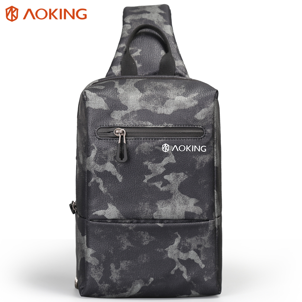 Aoking Travel Messengers Bags Small Handbags Men Crossbody Bags Male Daily Life Daypack Leisure Lightweight Shoulder Bag
