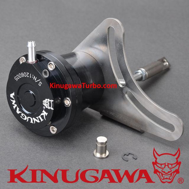 Kinugawa billet ajustável turbo atuador para ihi rhf5hb vf22 vf23 vf28 & para subaru sti 1.0 bar/14.7 psi