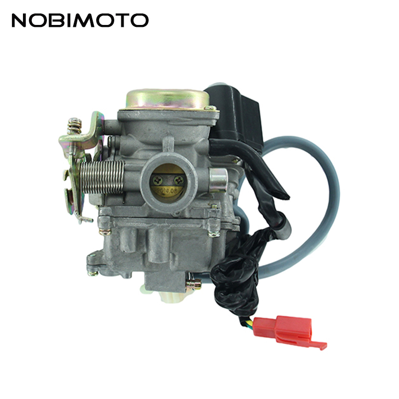 <font><b>GY6</b></font> <font><b>50cc</b></font> 60cc 80cc Scooter <font><b>Carburetor</b></font> Carb 4 Stroke Scooter Moped ATV HK-146 image