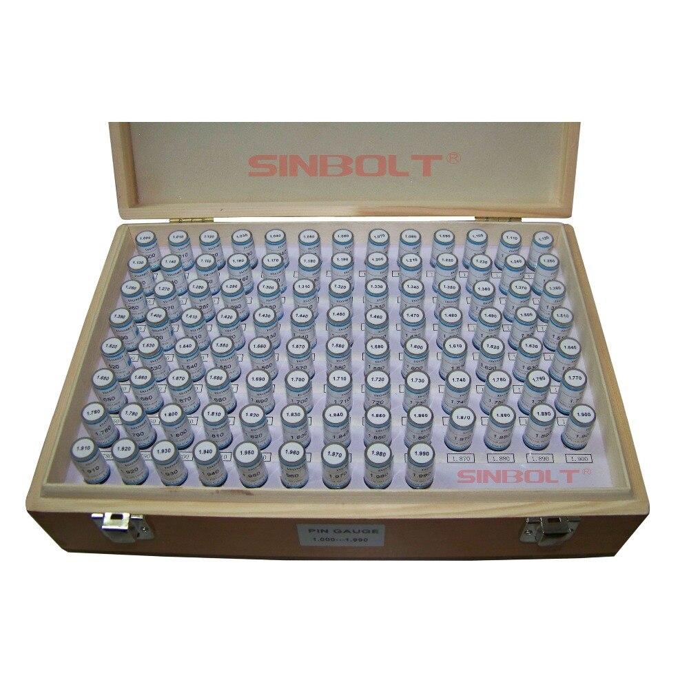 Gauge Set Set,1.000mm--1.990mm(Interval: Pin