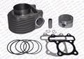 Производительность GY6 63 мм Цилиндр Комплект Поршневых колец (большой Комплект отверстия) изменение 125CC к 180CC Kazuma Jonway ATV Quad Мопедов Багги
