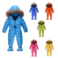 2015 new arrive baby winter baby girls boys clothes  Thick Warm newborn baby snowsuit  Down rompers kids clothing 1-4 years