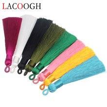 Оптовая продажа 5 шт 8 цветов 9 см длинные хлопковые шелковые