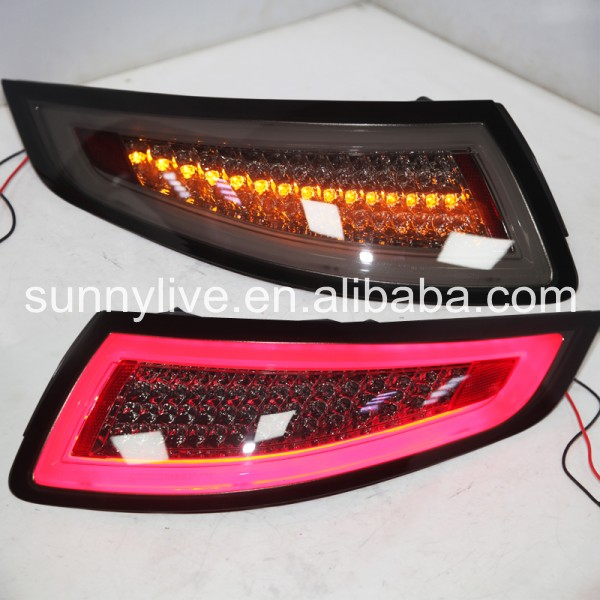 2005 2008 For Porsche 996 LED Taillights LED Rear Light Rear Lamps JY Smoke Color