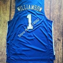 4f27d4b96 EFKGH Mens 1 Zion Williamson 2 Cameron Reddish 5 RJ Barrett College  Basketball Jersey