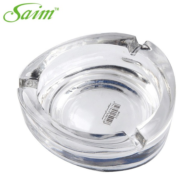 Ashtray Gl For Outdoor And Outside Decorative Diameter 5 2 Round 3 Holder Bone China Ceramic Cigar