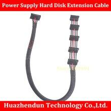 Топ продаж Питание SATA жесткий диск кабель-удлинитель одна точка пять SSD группа специального назначения около 45-50 см 18awg