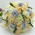 Ramo de mariage 2017 buque de noiva PE Rosas Ramo De La Boda Hecho A Mano flores de la boda ramos de novia pristian zouboutin