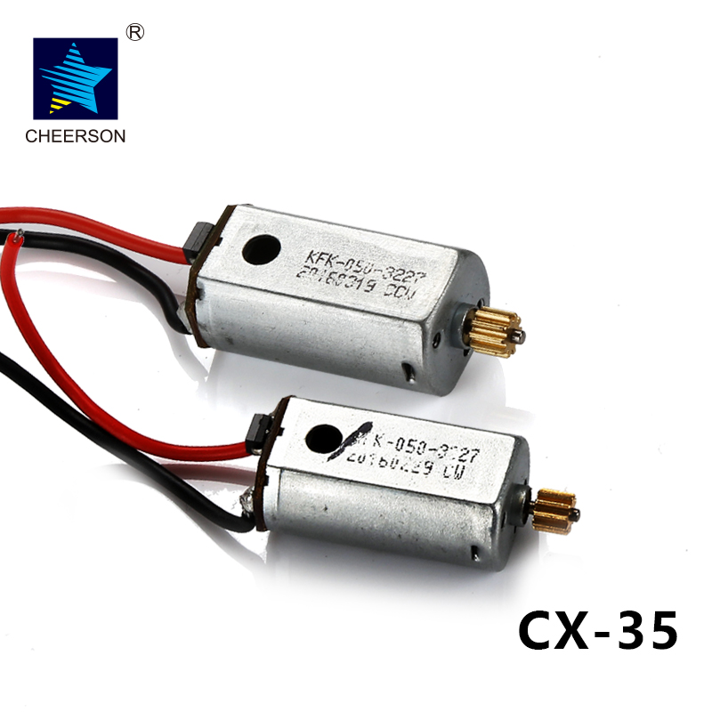 Cheerson CX-35 CX35 RC Quadcopter Spare Parts CW/CCW Motor free shipping oem brushless motor rc quadcopter cw ccw parts without silver black cap for cheerson quadcopter cx20 cx 20